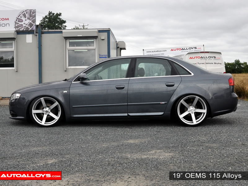 Audi A4 04 - 07 (B7) 19 inch OEMS 115 Alloy Wheels
