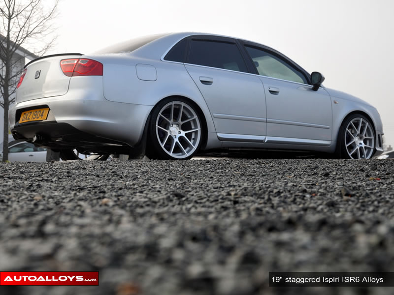 Seat Exeo 09 On (3R) 19 inch Ispiri ISR6 Alloy Wheels
