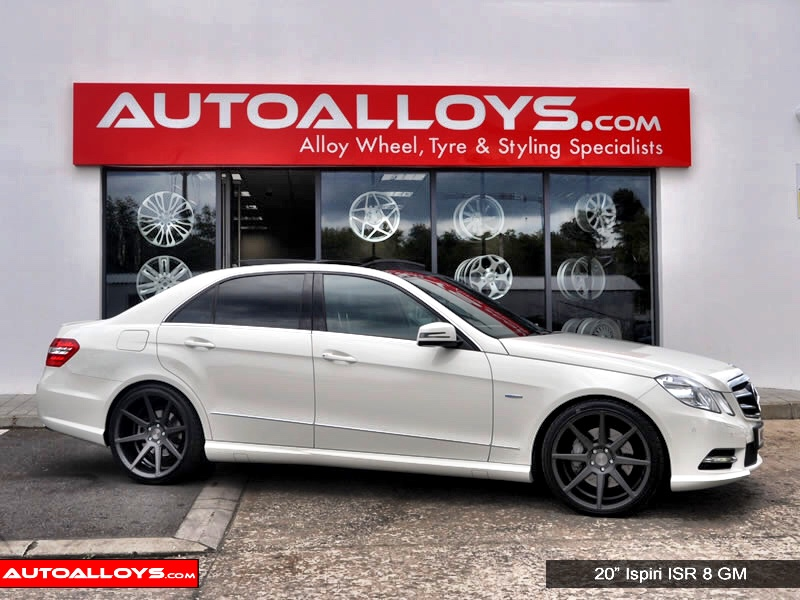 Mercedes E Class 09 On (W212) 20 inch Ispiri ISR8 Alloy Wheels