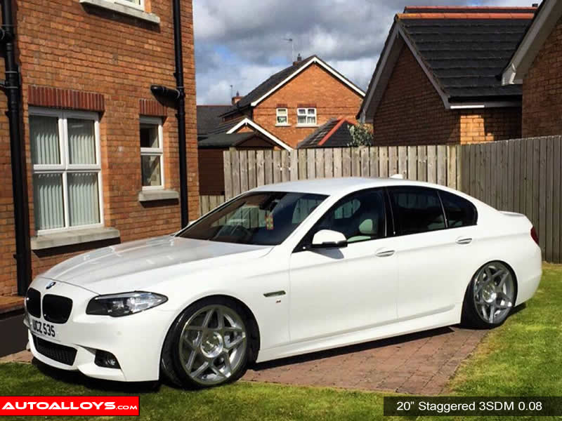 BMW 5 Series 10 On (F10) 20 inch 3SDM 0.08 Alloy Wheels