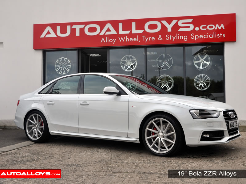 Audi A4 08 On (B8) 19 inch Bola ZZR Alloy Wheels