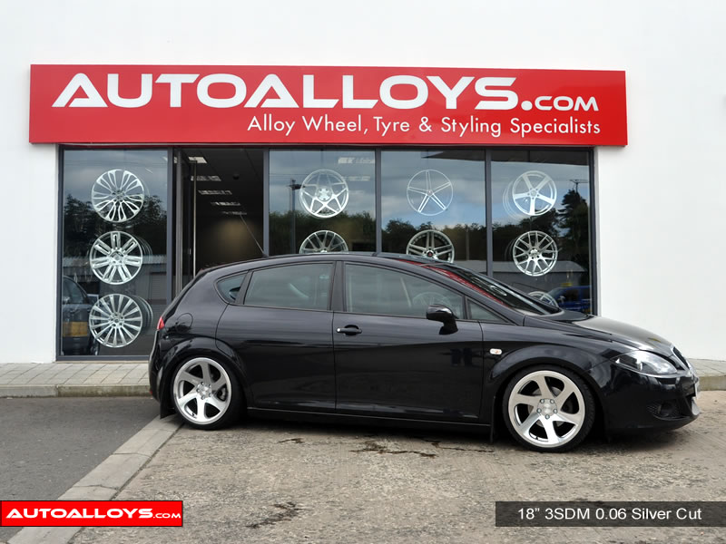 Seat Leon 05 - 12 (1P) 18 inch 3SDM 0.06 Alloy Wheels