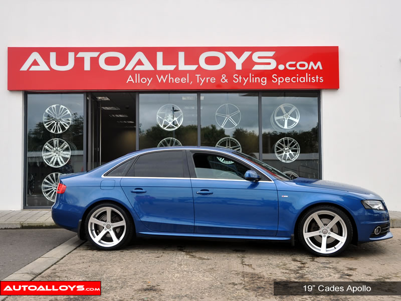 Audi A4 08 On (B8) 19 inch Cades Apollo Alloy Wheels