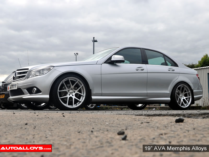 Mercedes C Class 07 On (W204) 19 inch AVA Memphis Alloy Wheels