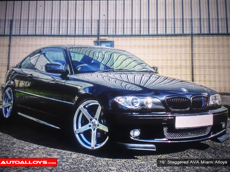 BMW 3 Series 98 - 05 (E46) 19 inch AVA Miami Alloy Wheels