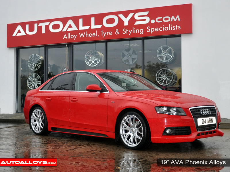 Audi A4 08 On (B8) 19 inch AVA Phoenix Alloy Wheels