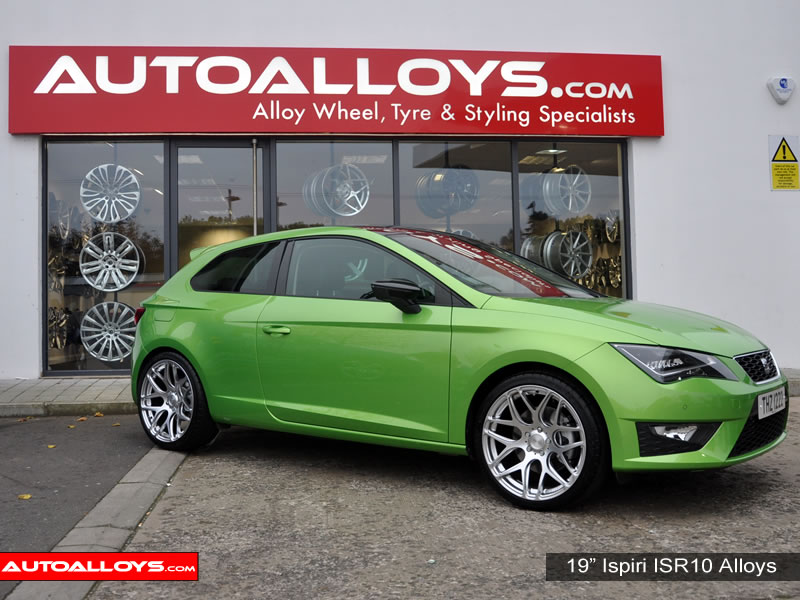 Seat Leon 13 On (5F) 19 inch Ispiri ISR10 Silver Alloy Wheels