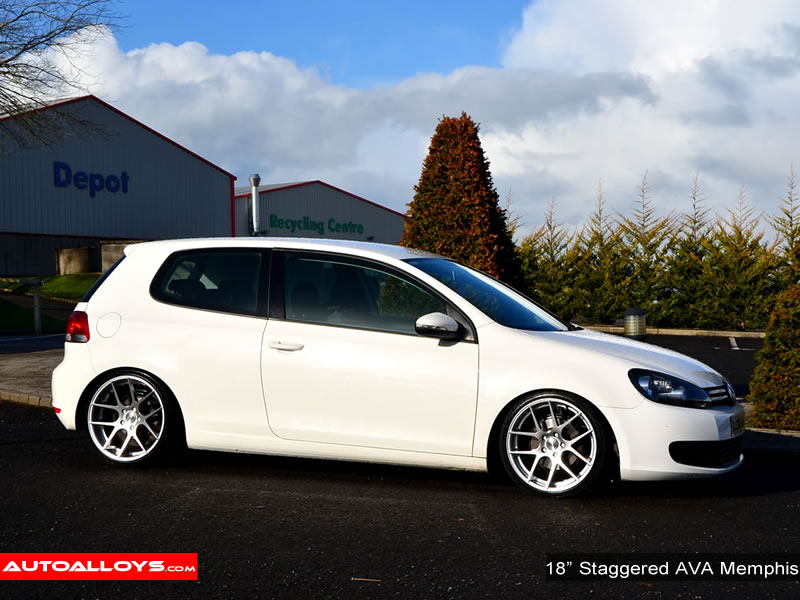 Volkswagen Golf 08 - 13 (MK6) 18 inch AVA Memphis Alloy Wheels
