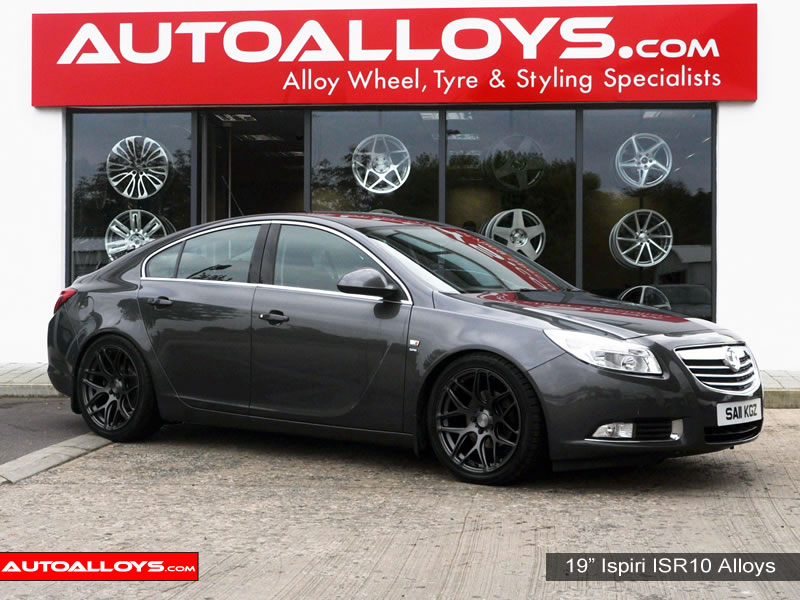 Vauxhall Insignia 09 On 19 inch Ispiri ISR10 Gunmetal Alloy Wheels