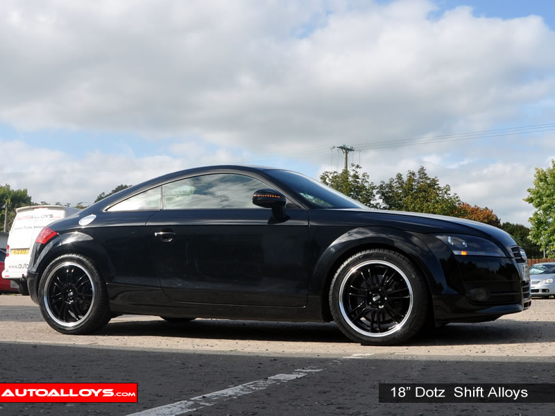 Audi TT 06 On (8J) 18 inch Dotz Shift Alloy Wheels