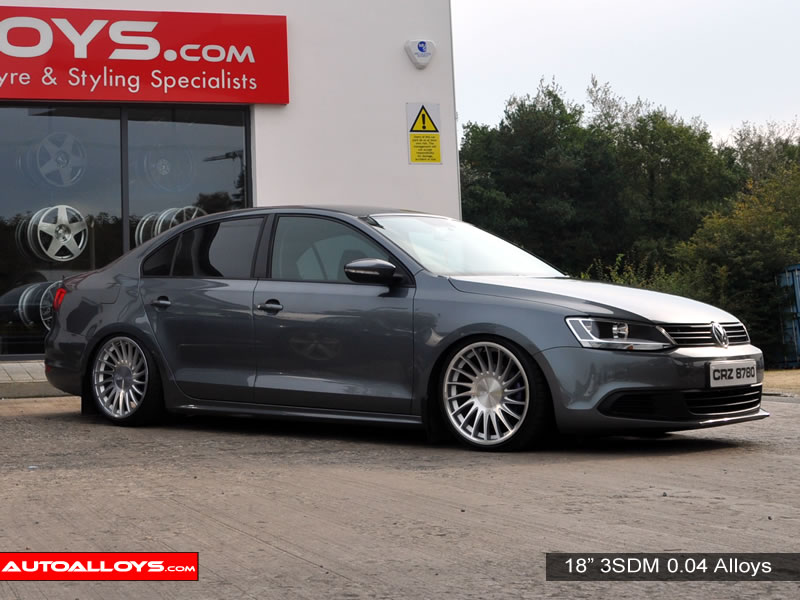Volkswagen Jetta 11 On (MK6) 18 inch 3SDM 0.04 SMF Alloy Wheels