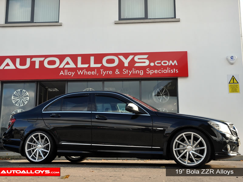 Mercedes C Class 07 On (W204) 19 inch Bola ZZR SMF Alloy Wheels