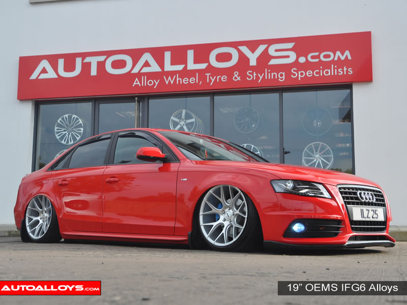 Audi A4 08 On (B8) 19 inch OEMS IFG6 SMF Alloy Wheels