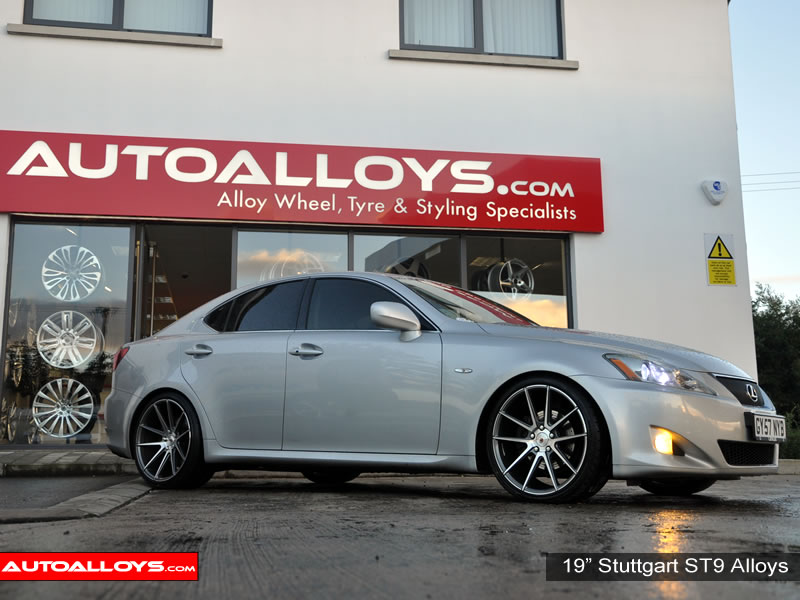 Lexus IS 200D - 220D - IS250 05 - 13 19 inch Stuttgart ST9 GMF Alloy Wheels