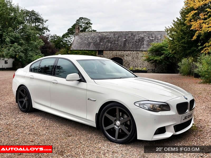 BMW 5 Series 10 On (F10) 20 inch OEMS IFG3 GM Alloy Wheels