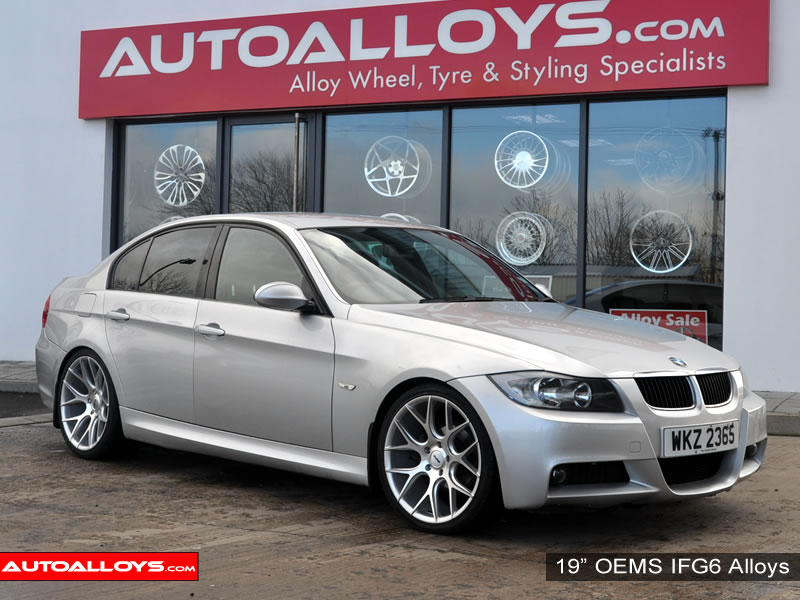 BMW 3 Series 05 - 12 (E90) 19 inch OEMS IFG6 SMF Alloy Wheels