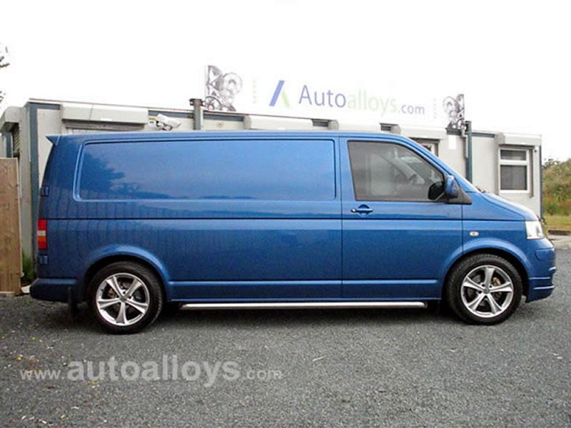 Volkswagen T5 10 On 18 inch Dare T888 Alloy Wheels