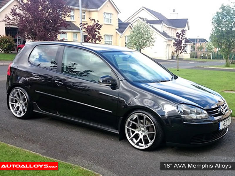 Volkswagen Golf 04 - 08 (MK5) 18 inch AVA Memphis Alloy Wheels