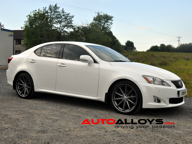 Lexus IS 200D - 220D - IS250 05 - 13 19 inch OEMS 110 Gunmetal Alloy Wheels