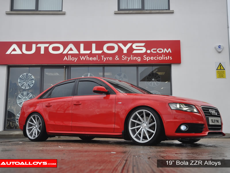 Audi A4 08 On (B8) 19 inch Bola ZZR SMF Alloy Wheels