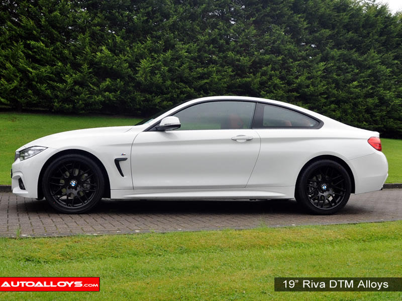 BMW 4 Series 13 On (F32) 19 inch Riva DTM Black Alloy Wheels