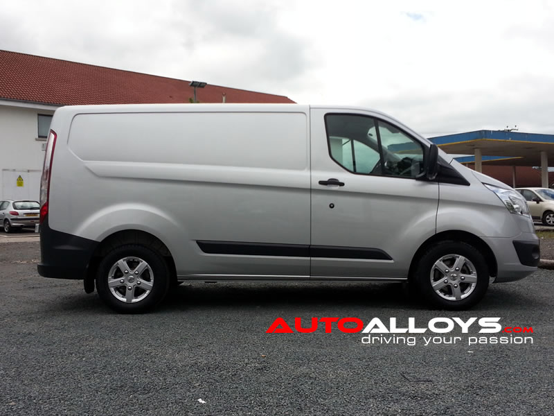 Ford Transit 12 On (Custom) 15 inch Fox Viper Alloy Wheels
