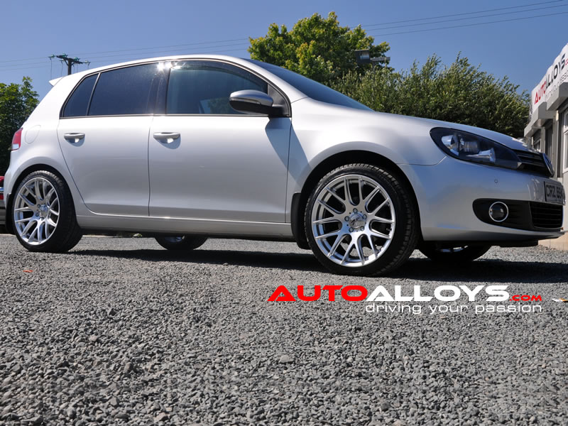 Volkswagen Golf 08 - 13 (MK6) 18 inch Zito 935 Silver Alloy Wheels
