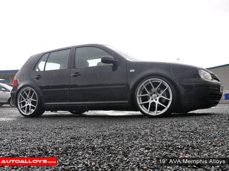 Volkswagen Golf 97 - 04 (MK4) 19 inch AVA Memphis Alloy Wheels