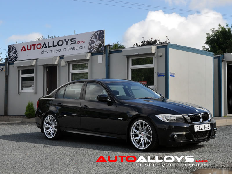 BMW 3 Series 05 - 12 (E90) 19 inch Zito 935 Silver Alloy Wheels