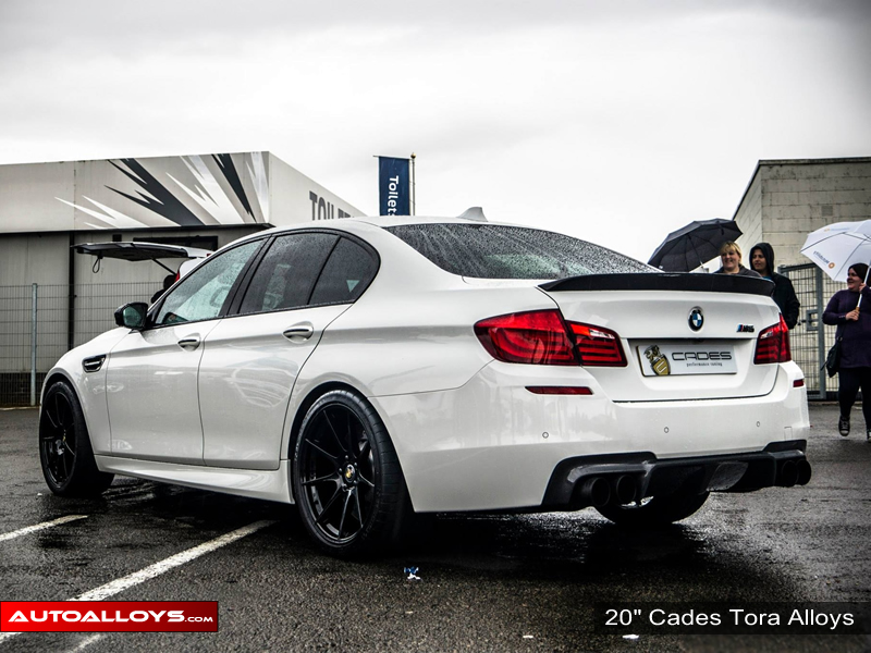 BMW 5 Series 10 On (F10) 20 inch Cades Tora Black Alloy Wheels