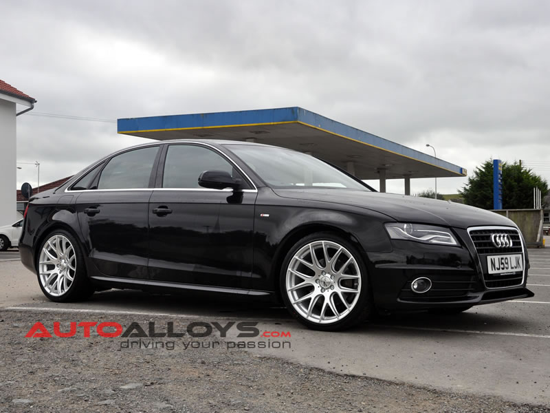 Audi A4 08 On (B8) 19 inch Zito 935 Silver Alloy Wheels