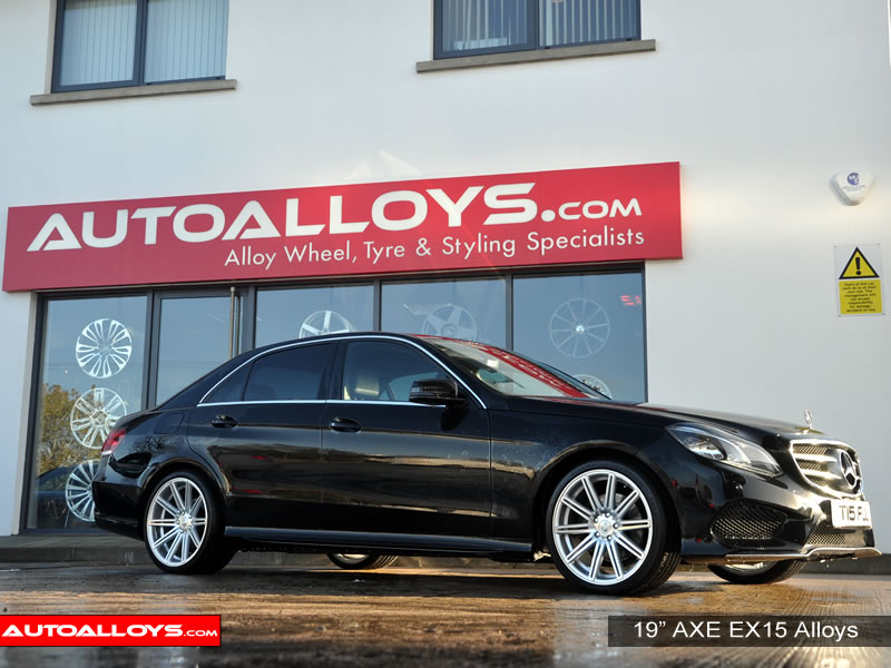Mercedes E Class 09 On (W212) 19 inch AXE EX15 SPF Alloy Wheels