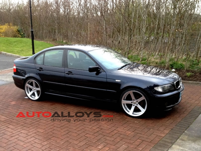 BMW 3 Series 98 - 05 (E46) 19 inch Cades Apollo Silver Alloy Wheels