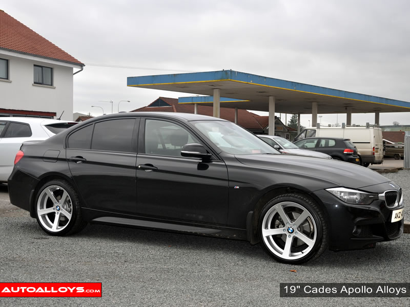BMW 3 Series 12 On (F30) 19 inch Cades Apollo Silver Alloy Wheels