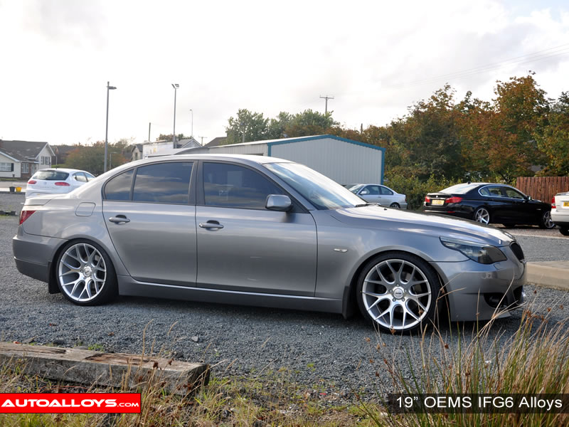 BMW 5 Series 03 - 10 (E60) 19 inch OEMS IFG6 SMF Alloy Wheels