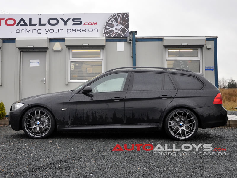 BMW 3 Series 05 - 12 (E91) 19 inch Fox MS007 Matt Gunmetal Alloy Wheels