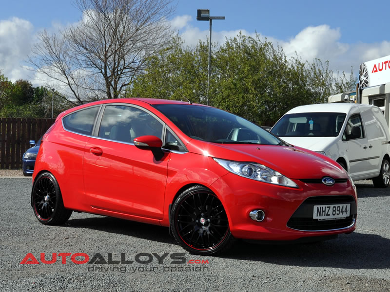 Ford Fiesta 08 On (MK7) 17 inch Calibre Motion 2 BRL Alloy Wheels