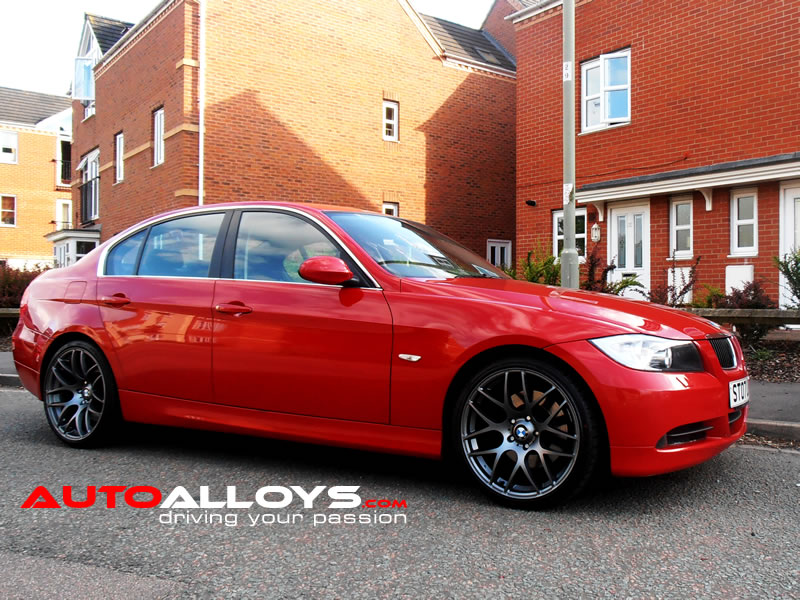 BMW 3 Series 05 - 12 (E90) 19 inch Fox MS007 Matt Gunmetal Alloy Wheels
