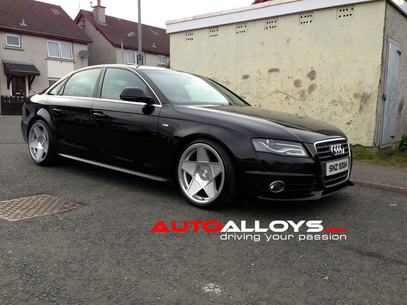 Audi A4 08 On (B8) 19 inch 3SDM 0.05 SMF Alloy Wheels