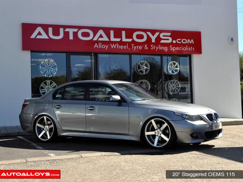 BMW 5 Series 03 - 10 (E60) 20 inch OEMS 115 SMF Alloy Wheels