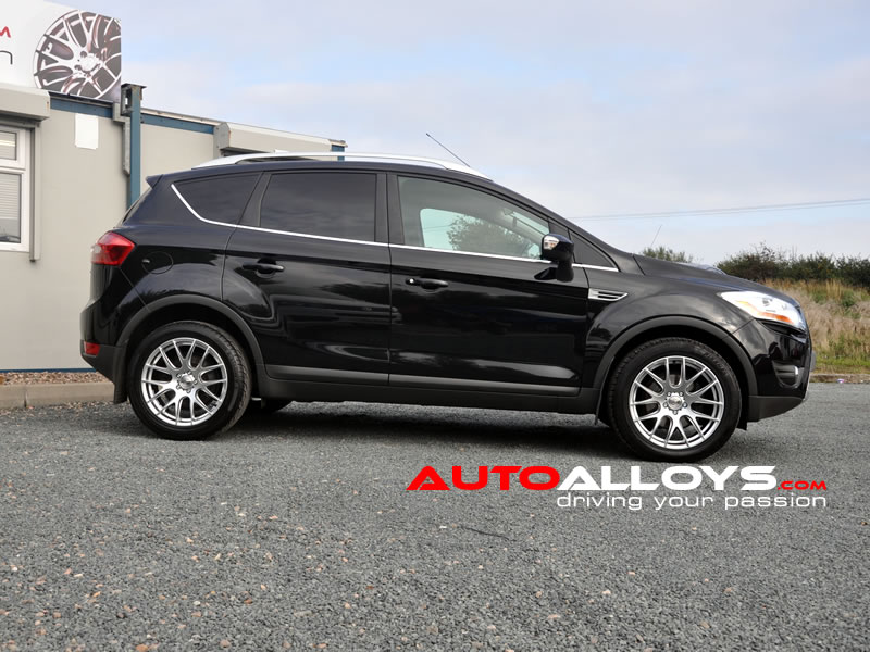 Ford Kuga 08 - 12 (MK1) 18 inch Zito 935 Silver Alloy Wheels