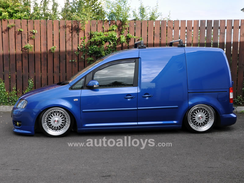Volkswagen Caddy 04 On (MK3) 18 inch Calibre Vintage Silver Alloy Wheels