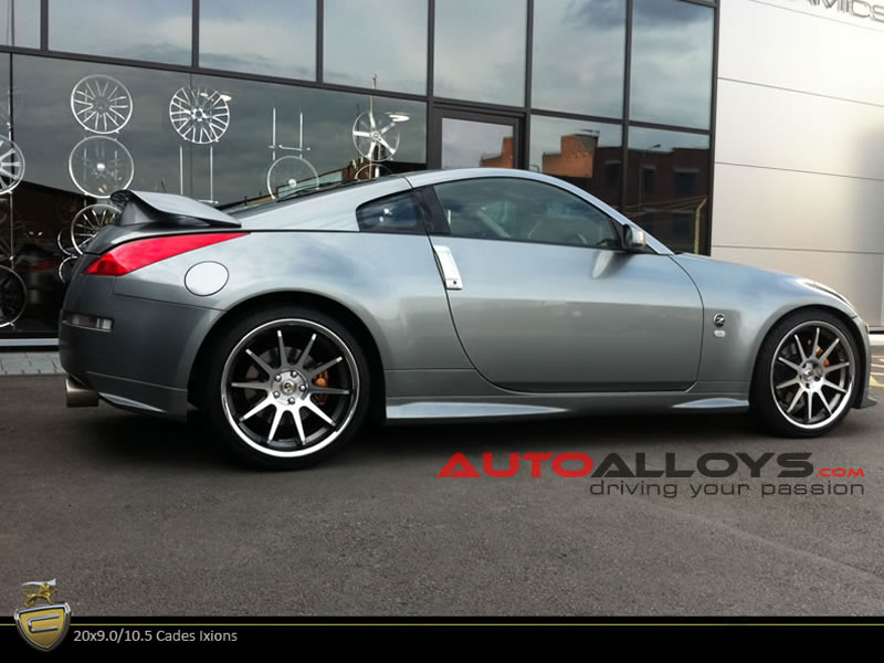 Nissan 350Z 02 - 09 20 inch Cades Ixion GMPL Alloy Wheels