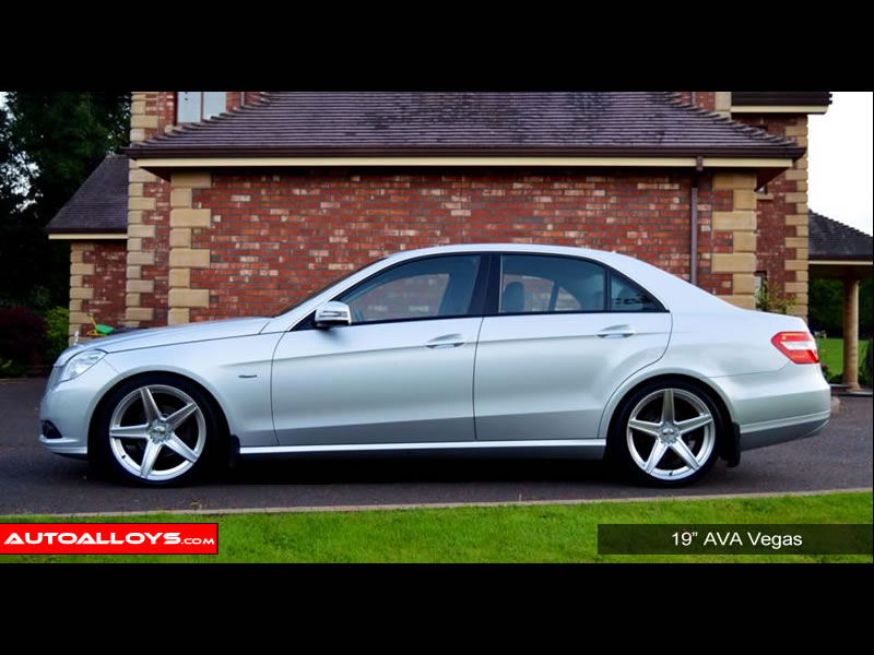 Mercedes E Class 09 On (W212) 19 inch AVA Vegas Alloy Wheels