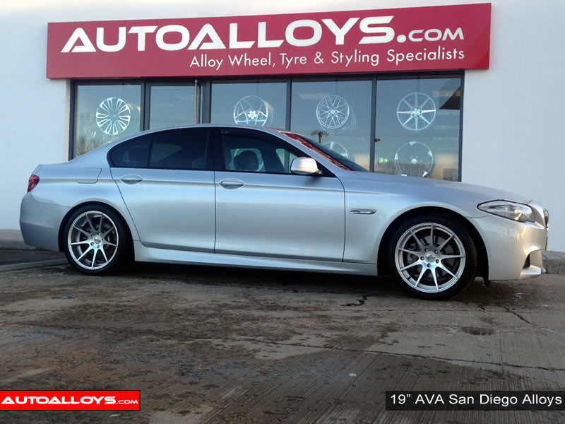 BMW 5 Series 10 On (F10) 19 inch AVA San Diego Alloy Wheels