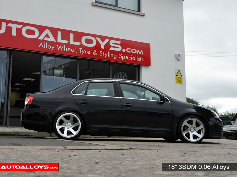 Volkswagen Jetta 11 On (MK6) 18 inch 3SDM 0.06 SMF Alloy Wheels