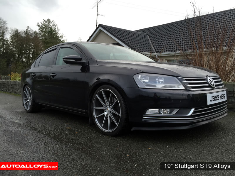 Volkswagen Passat 10 On (B7) 19 inch Stuttgart ST9 GMF Alloy Wheels