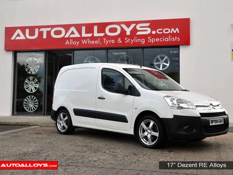 Citroen Berlingo 08 On 17 inch Dezent RE alloy wheels