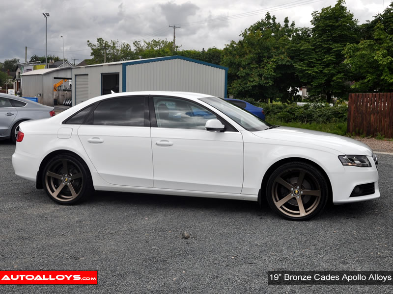 Audi A4 08 On (B8) 19 inch Cades Apollo Bronze Alloy Wheels