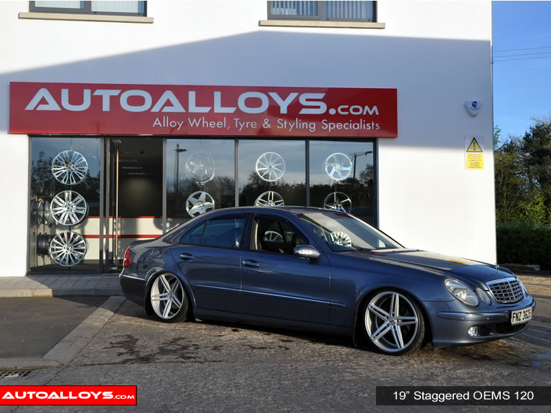 Mercedes E Class 02 - 08 (W211) 19 inch OEMS 120 SMF Alloy Wheels